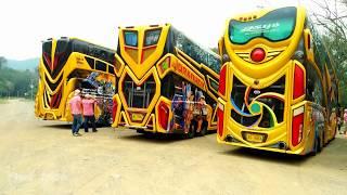 എന്റമ്മോ ഇതൊക്കെയാണ് ടൂർ ബസ് എന്ന് പറയുന്നത് ! The Most Beautiful Journey With THAILAND Tourist Bus