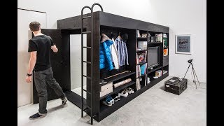 Incredible Bedroom And Space Saving Furniture For Small Space