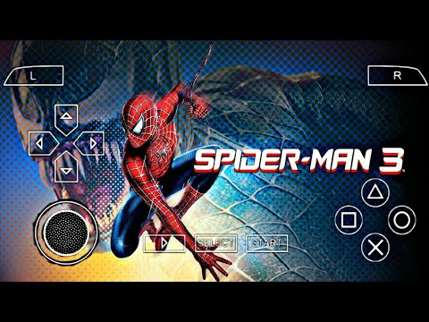 Spider-Man 3 Game PPSSPP EMULATOR HIGH GRAPHICS GAME 100% WORKING [ONLY( 40MB) - 동영상