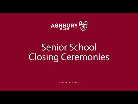 Senior School Closing Ceremonies