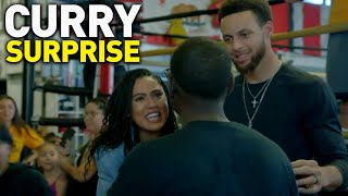 Steph Curry and Ellen Surprise Non-Profit Gym in Oakland