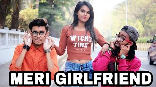 MERI GIRLFRIEND Ft Soraf KingD Crazy Hindi Rap Song 2018 Naina Bhardwaj