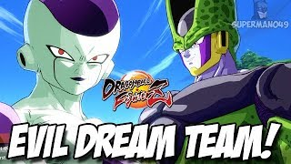 THE EVIL DREAM TEAM! CELL & FRIEZA - Dragon Ball FighterZ: Story Enemy Warrior Arc Part.1