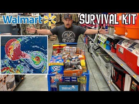 Walmart   Hurricane Dorian Survival Kit for Families