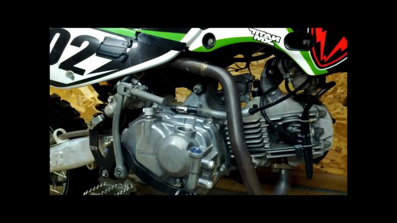how to winterize your klx 110 race bikechanging the oil and
