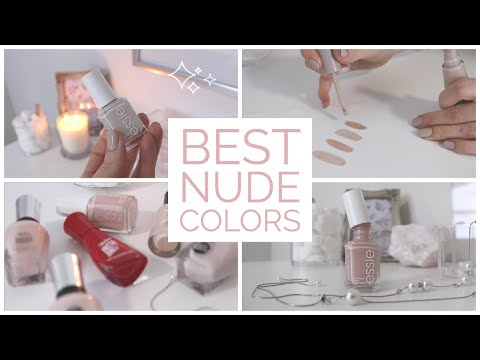 My 5 Holy Grail Classic Nude Nail Polishes   2021   Elegant, Classy - YouTube
