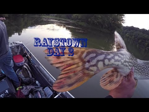 RAYSTOWN LAKE: DAY 2