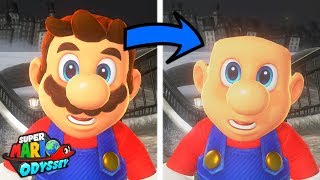 What Happens When Mario Goes Bald? - Super Mario Odyssey