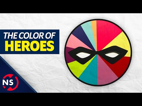 The Secret Superhero Color Theory... || NerdSync