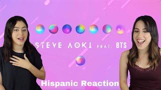 STEVE AOKI Waste It On Me ft BTS MV REACTION