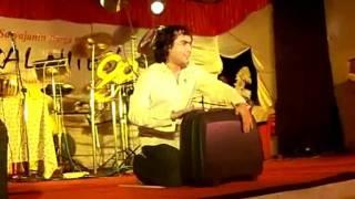 PERCUSSIONIST DEEPANKAAR SOLO IN ASSAM BHAVAN  MUMBAI DURGA PUJA