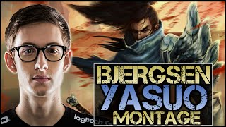 Bjergsen Yasuo Montage - Best Yasuo Plays