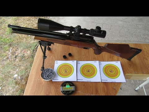 Webley LiteW8  22  30 yard zero plus reactive targets out to 50 yards