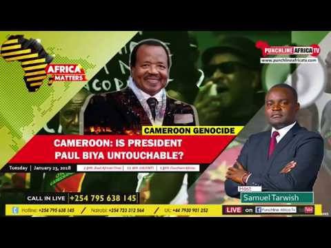 BREAKING NEWS Is Paul Biya of Cameroon untouchable after the Genocide in Ambazonia