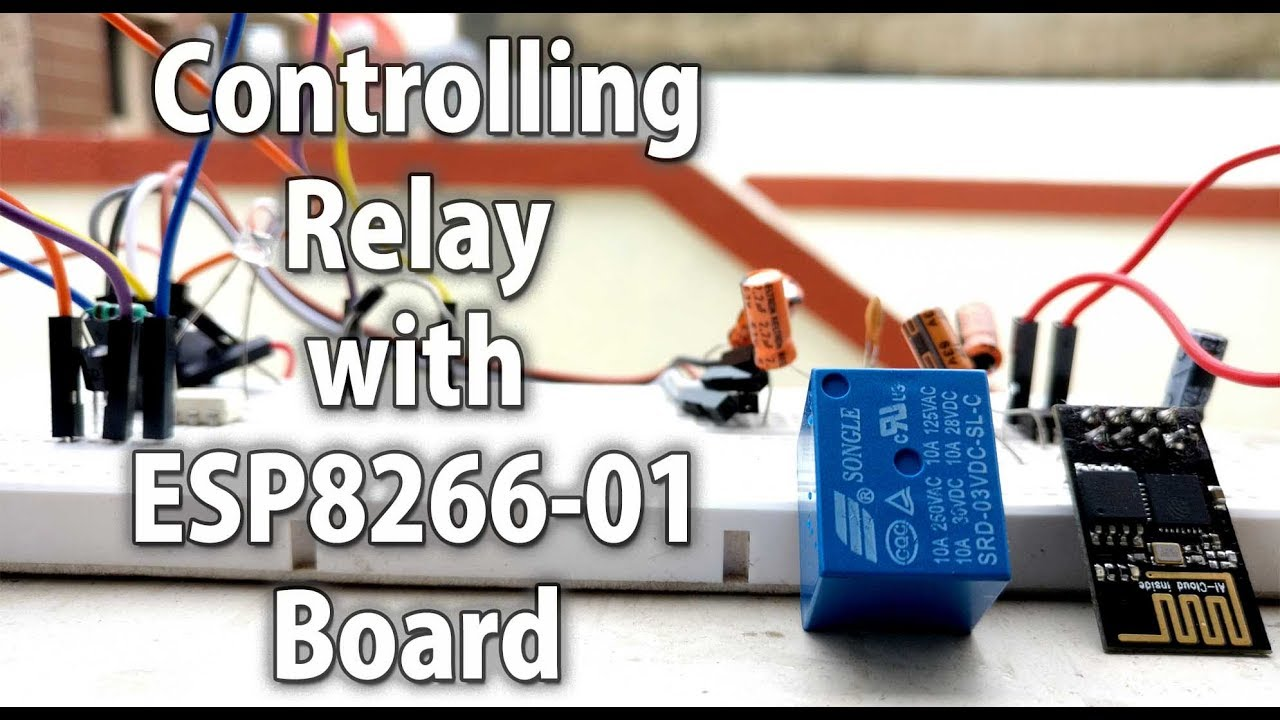 Controlling Relay With Esp8266 Module Without Opto 22 Wiring Diagram Ac Ssr Project