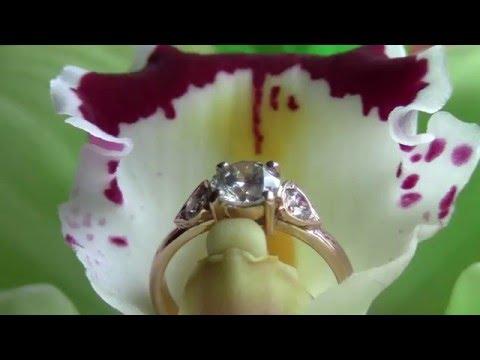 Кольцо с бриллиантом, процесс изготовления