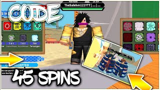 [065] UPDATE NEW FREE CODES! +45 FREE SPINS| MADARA KG VS MADARA KG!!| ROBLOX Naruto RPG- Beyond |