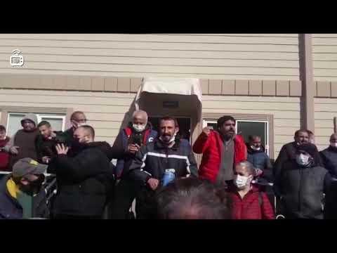 Grevdeki Maltepe Belediyesi işçileri referanduma gitti