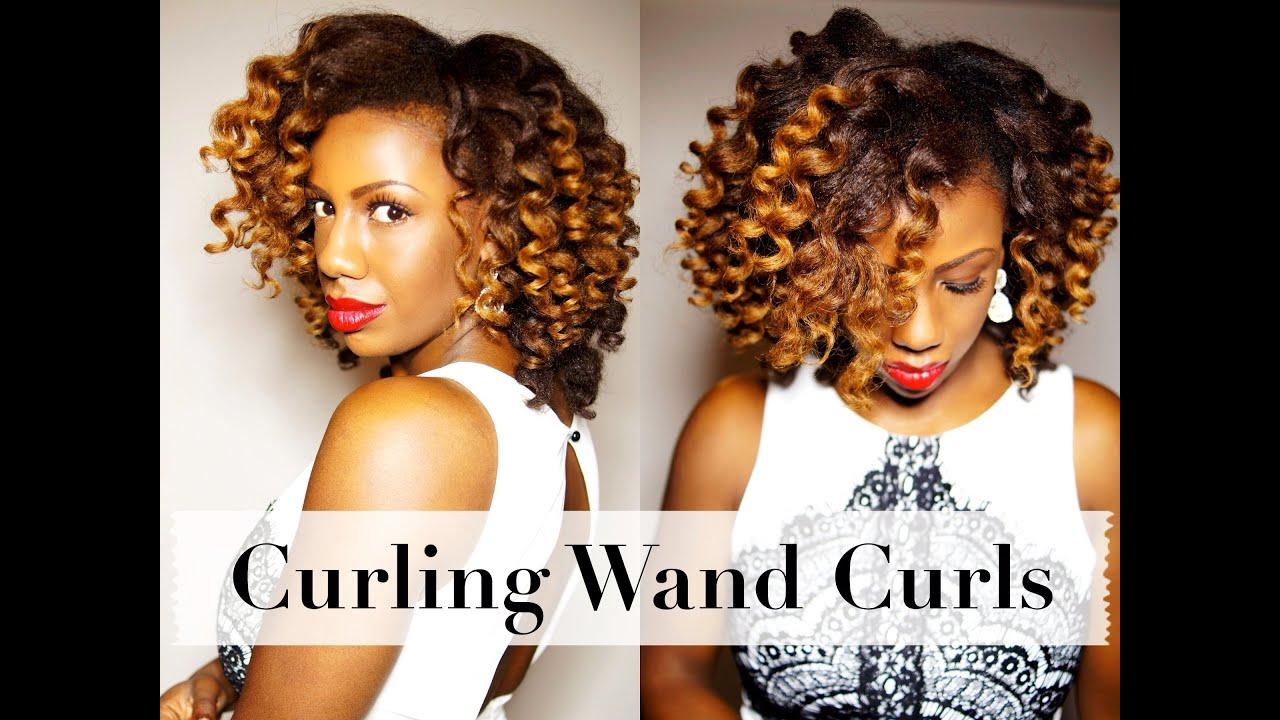 curling wand curls natural hair