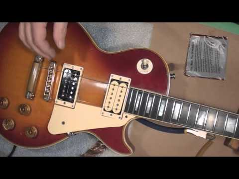 Gibson Les Paul Gets Parts and Setup