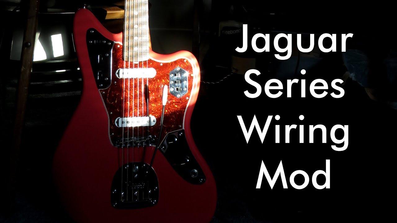 [FPWZ_2684]  Fender Jaguar Series Wiring Mod - YouTube   Fender Jaguar Wiring Series      YouTube