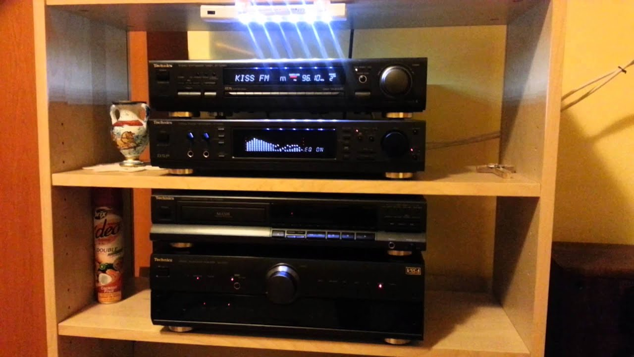 Technics HiFi Line  SBC350 speakers  YouTube