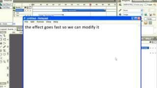 Swish Tutoriel Partie II,Comment créer un fichier flash swish