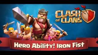 Clash Of Clans New Hero Ability - Iron Fist Sneak Peek