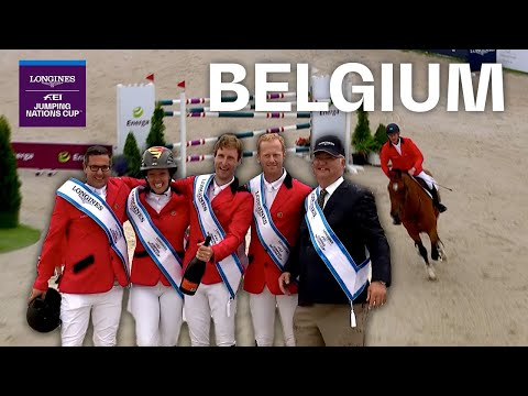 Team Belgium continues on the road of success |Longines FEI Jumping Nation Cup™