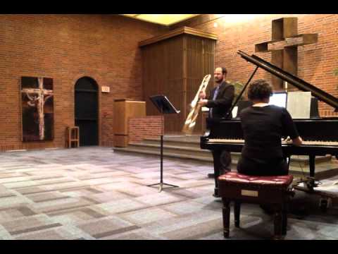 Trombone Recital, April 14, 2016