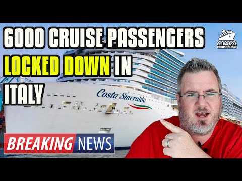 6000 PASSENGERS LOCKED DOWN ON A CRUISE SHIP - Possible Coronavirus Case On Board Costa Smeralda