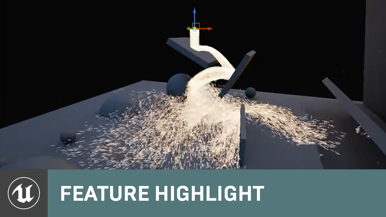 Sparks: Scene GPU Particle Collision with Signed Distance Fields | Feature  Highlight | Unreal Engine