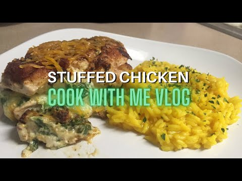 Stuffed Chicken Breast Recipe | With Spinach, Cheese, and Bacon