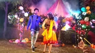 #Kamar Lachake   कमर लचके   jhijhiya star Niraj nirala Live making video