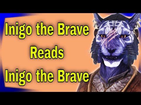 Inigo reads Inigo the Brave. Elder Scrolls V: Skyrim