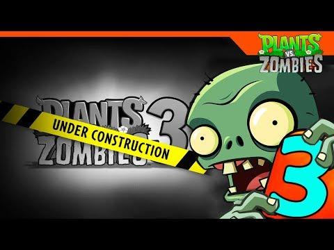 Plants Vs Zombies 3 🌻🆚💀 РАСТЕНИЯ ПРОТИВ ЗОМБИ 3 ► ОФИЦИАЛЬНО БУДЕТ!