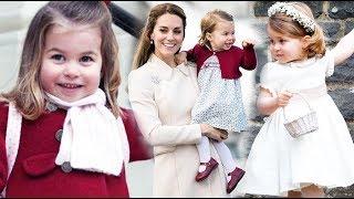 Принцесса Шарлотта - дочь Кейт Миддлтон и принца Уильяма