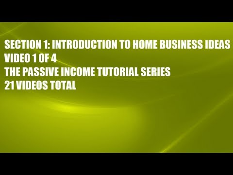 HOME BUSINESS IDEAS YOU CAN BUILD ONLINE