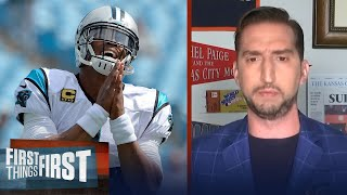 Cam Newton's 'Me against the World' mentality is the Patriot Way — Nick Wright | FIRST THINGS FIRST