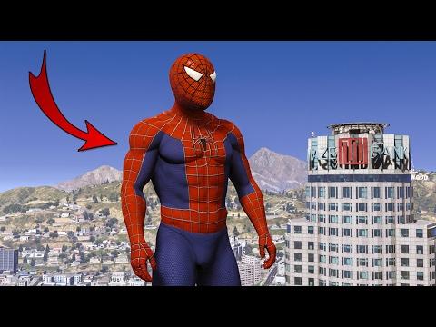 L'HOMME QUI MARCHE SUR LES MURS ! (GTA 5 Spiderman)