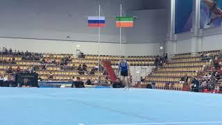 Поляшов Владислав - вольные упражнения