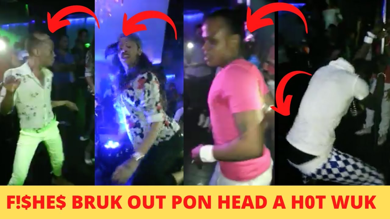 F!$HE$ A Get W!LD A BRUK-0UT Pon HEAD TOP & A H0T WUK Inna MOBAY PARTY