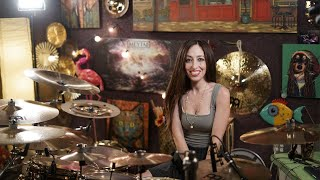 36 CRAZYFISTS - BLOODWORK - DRUM COVER BY MEYTAL COHEN