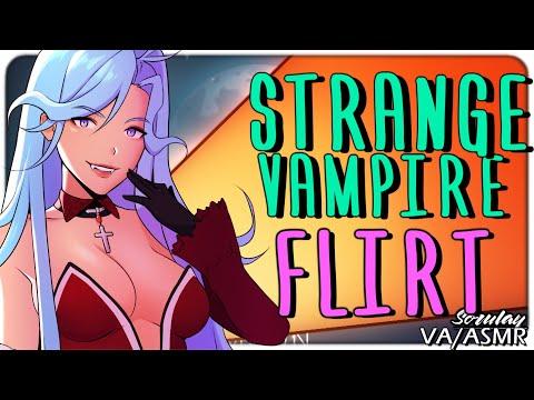 [ASMR] Strange Vampire Flirt [Princess] [Survey] [Voice Acting] [Italian Accent]