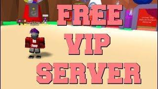 ROBLOX BUBBLE GUM SIMULATOR FREE VIP SERVER!