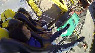Crazy and Wild ride in Bergen, Norway. (Tivoli 2014)