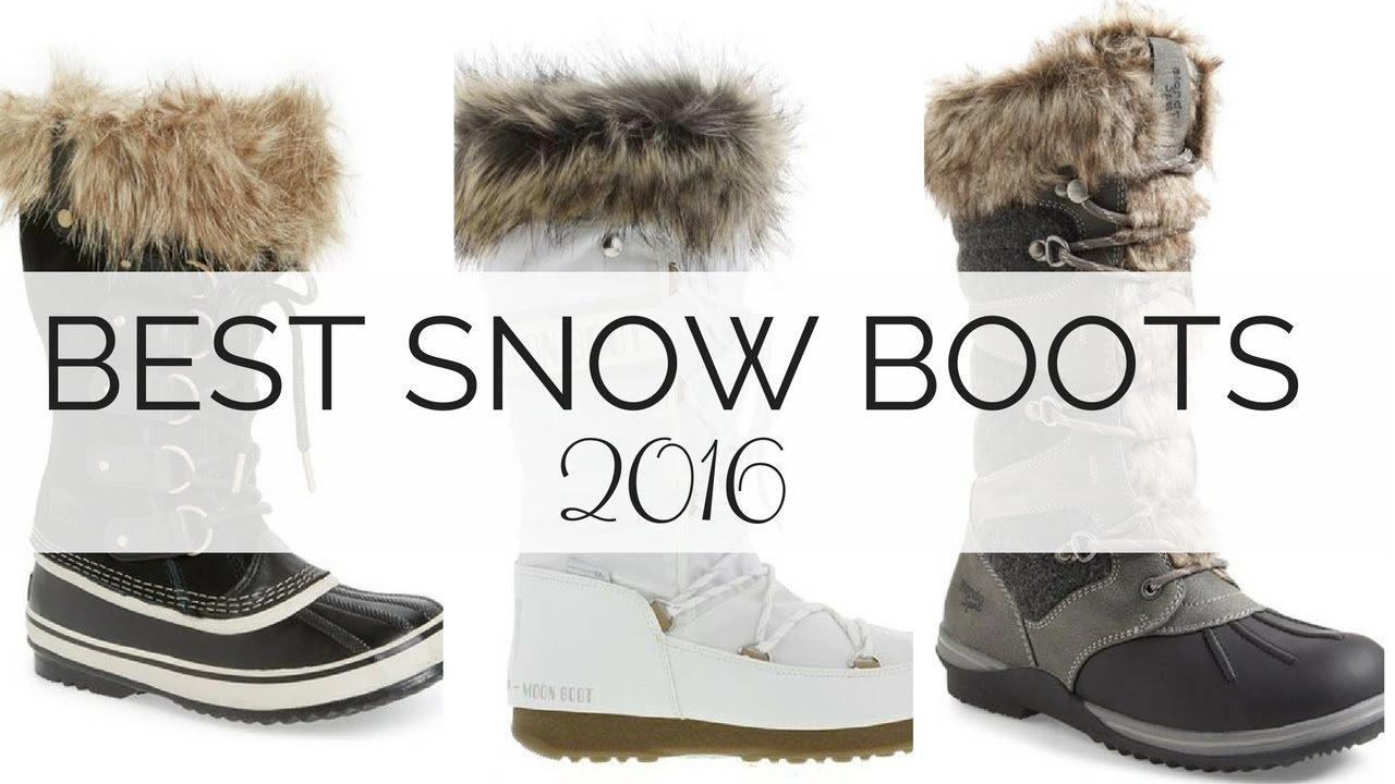 53342ea52f8 Best Snow Boots 2016