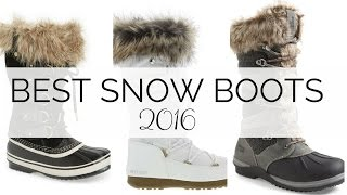 Best Snow Boots 2016 | 10 Categories | BusbeeStyle com