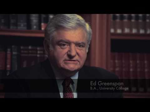 University of Toronto: Brian and Edward Greenspan, Legends of Criminal Law, Alumni Portraits