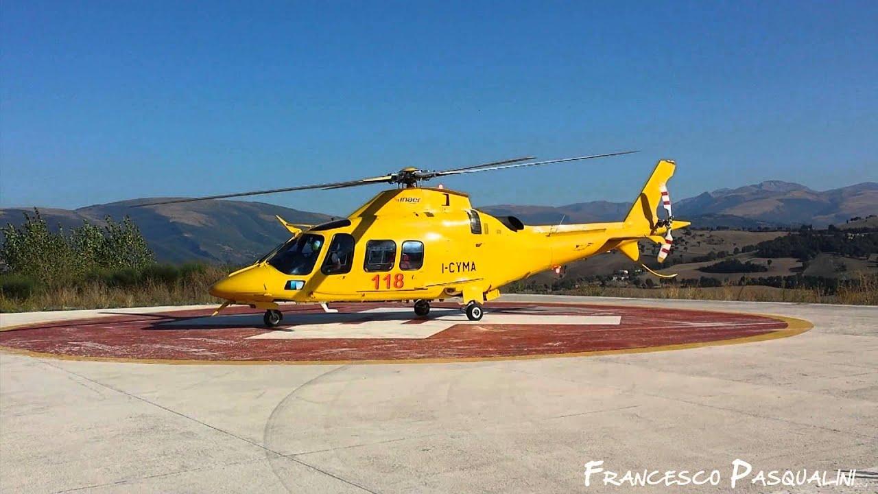 Elicottero 118 : Capri campo di calcio come pista di atterraggio per il